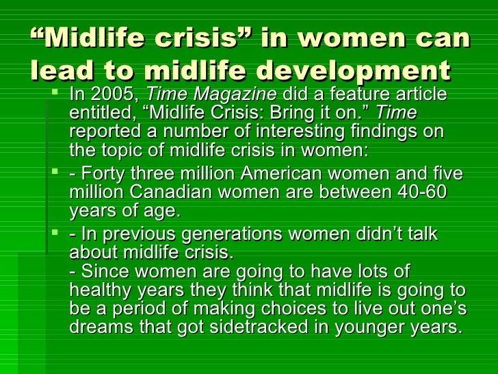 Midlife crisis men stages