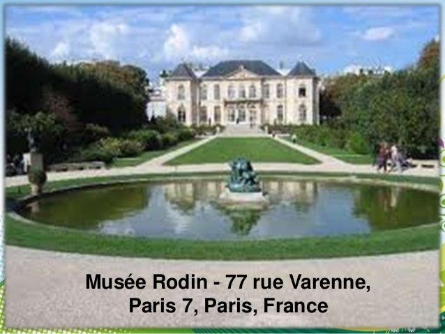 Musée Rodin, 79 rue deVarenne, 75007 Paris, France