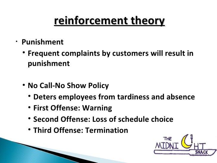 <ul><li>Punishment </li></ul><ul><ul><li>Frequent complaints by customers will result in punishment </li></ul></ul><ul><ul...