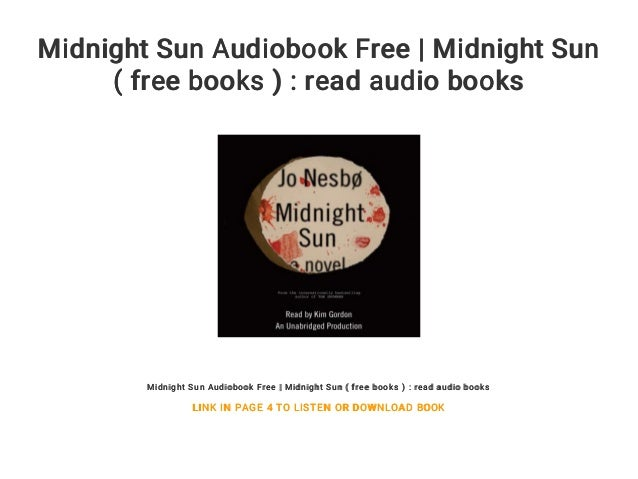 midnight sun audiobook full