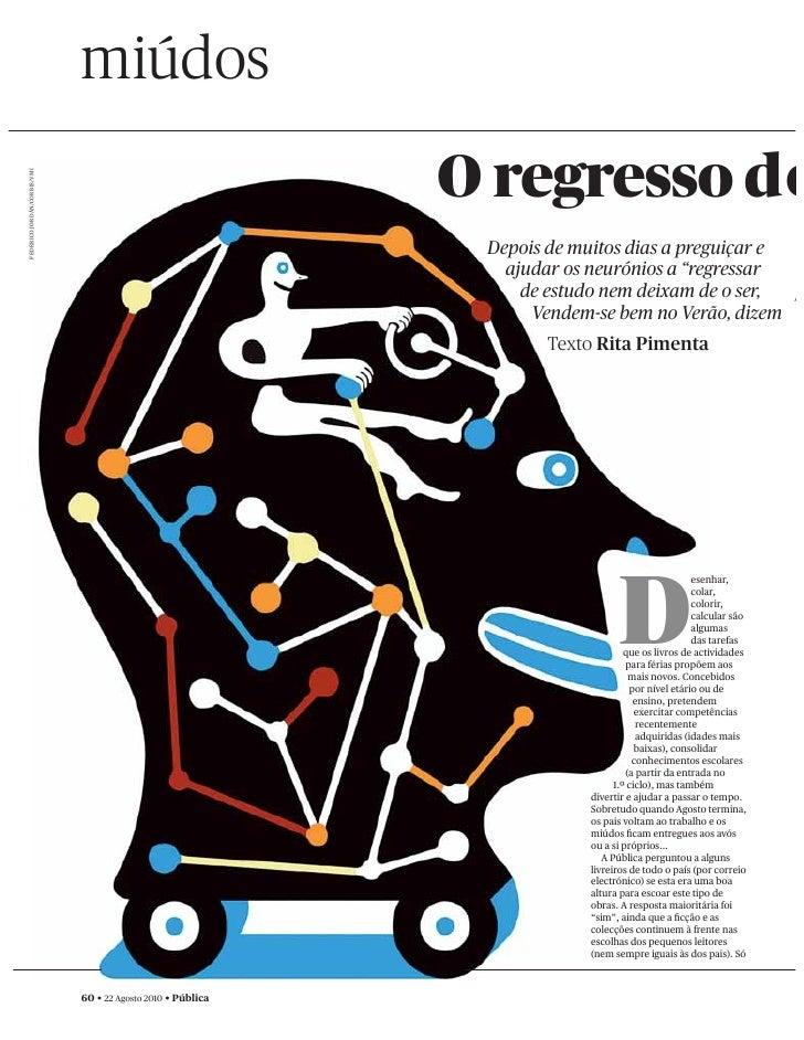 miúdos                                                              O regresso d o FEDERICO JORDÁN/CORBIS/VMI             ...