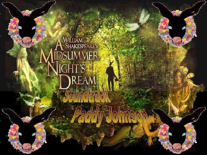 The archetypes present in midsummer nights dream