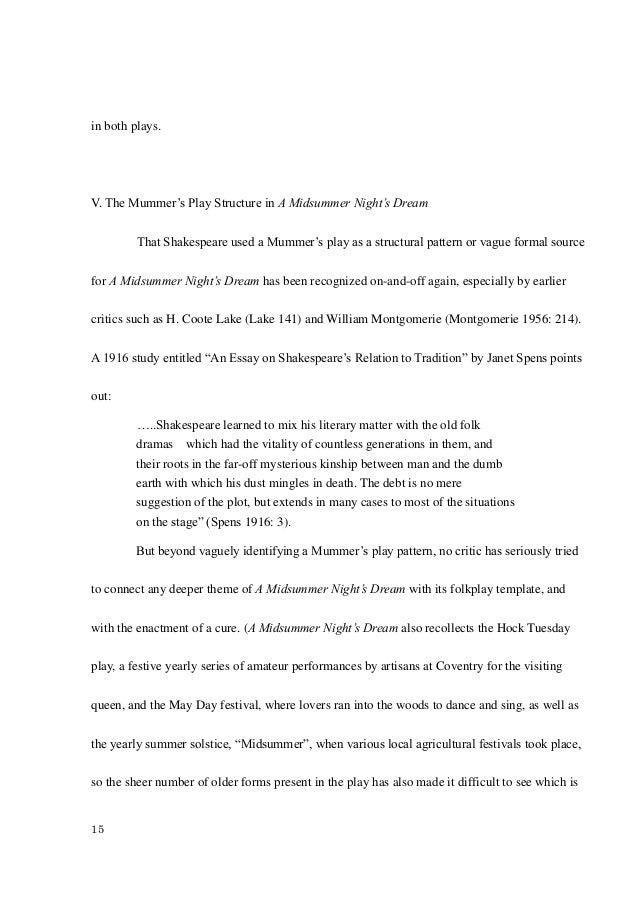Thanatopsis essay