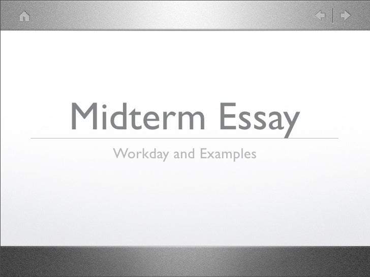 midterm review essay example We will write a custom essay sample on spc 1017 midterm review for you for only $1390/page order now.