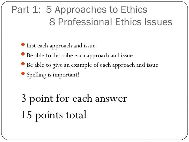 ethics midterm Intro to ethics ethc 1123 ethics spring 2017 dr hallthis study guide was  uploaded for the midterm exam on 01/25/2017 by an elite notetaker.