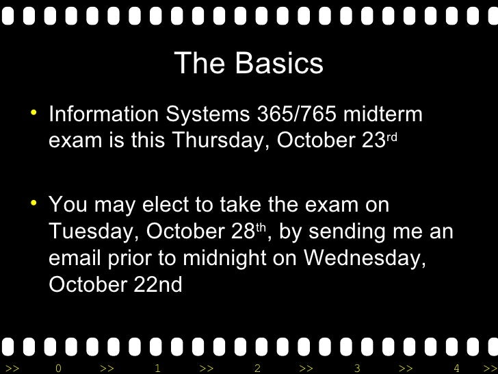 Midterm for information system