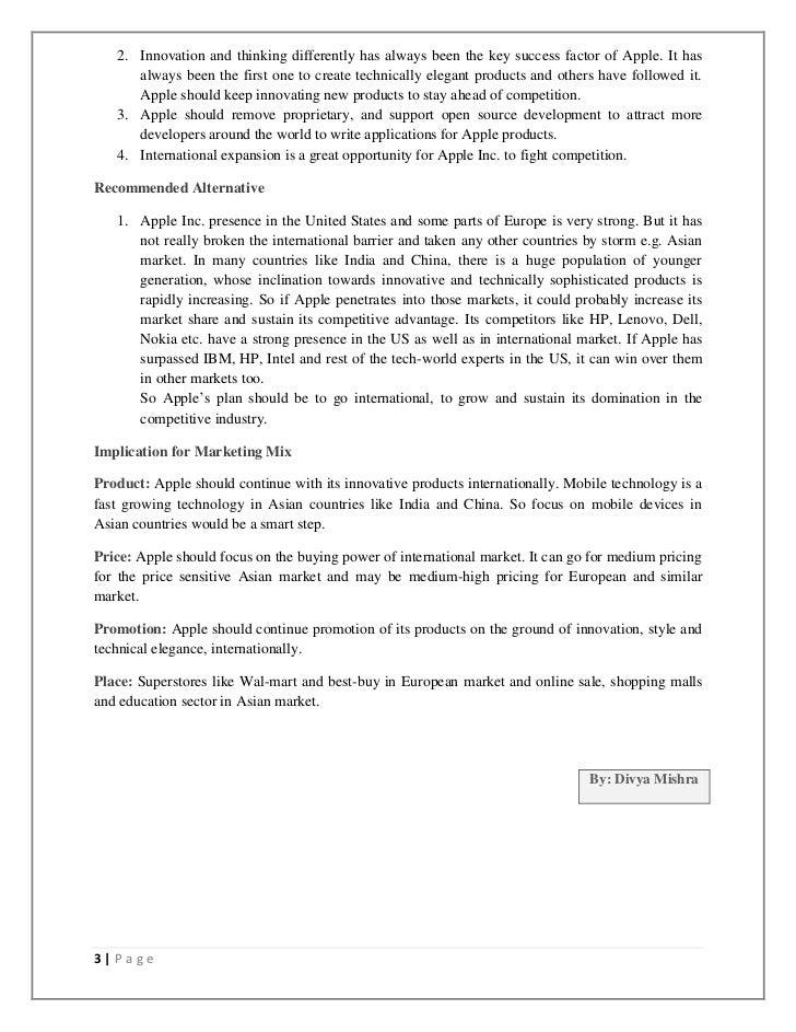 Apa Executive Summary Eczalinf