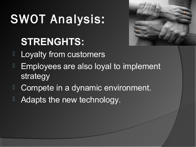 a swot analysis of kfcs resource strenghts and weaknesses and its opportunities and threats Swot analysis (strengths, weaknesses, opportunities and threats analysis) is a framework for identifying and analyzing the internal and external factors that can have an impact on the viability of a project, product, place or person.