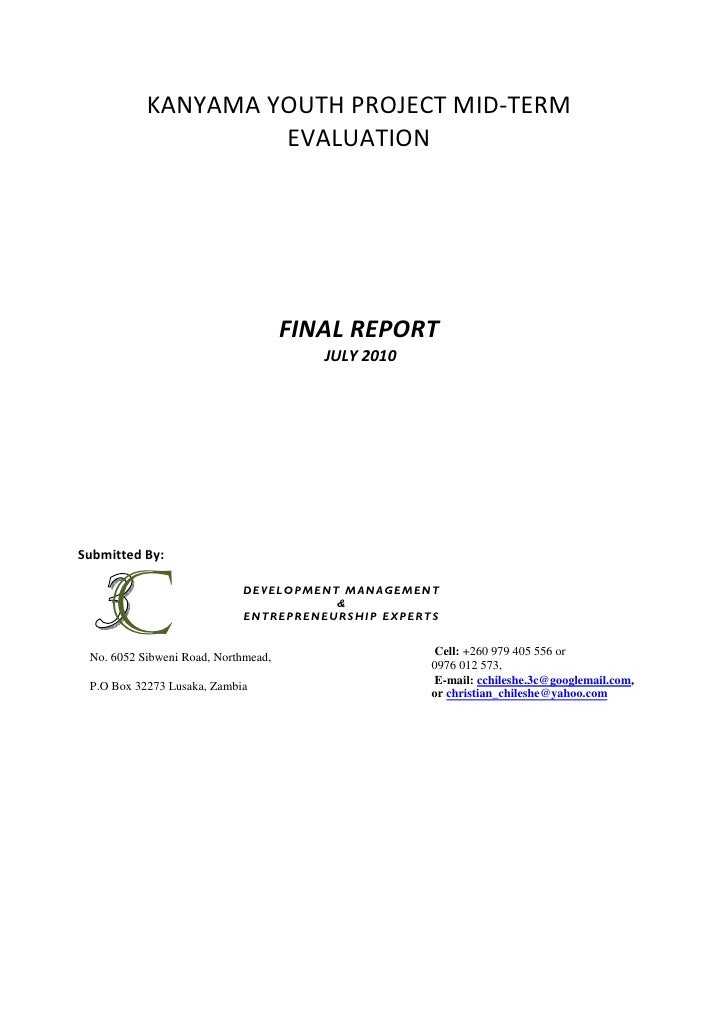Mid Term Review Final Report