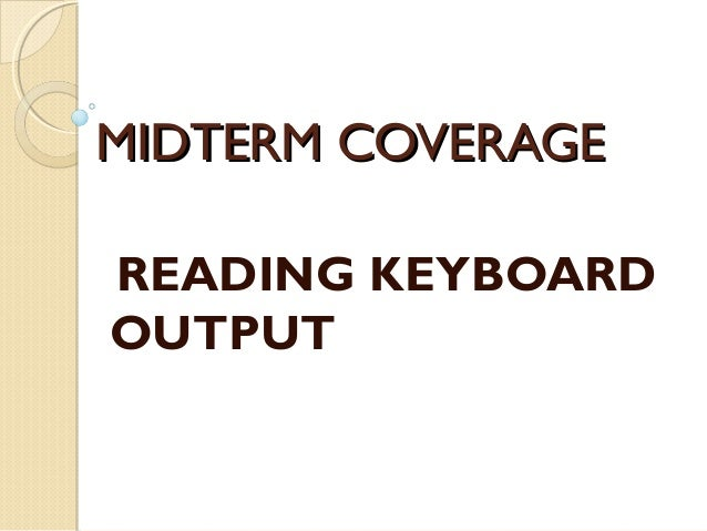how to change keyboard output