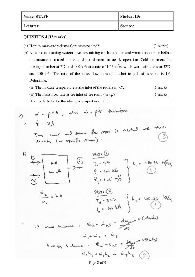 Midterm test sem thermodynamics 1 for How to get warm in a cold room