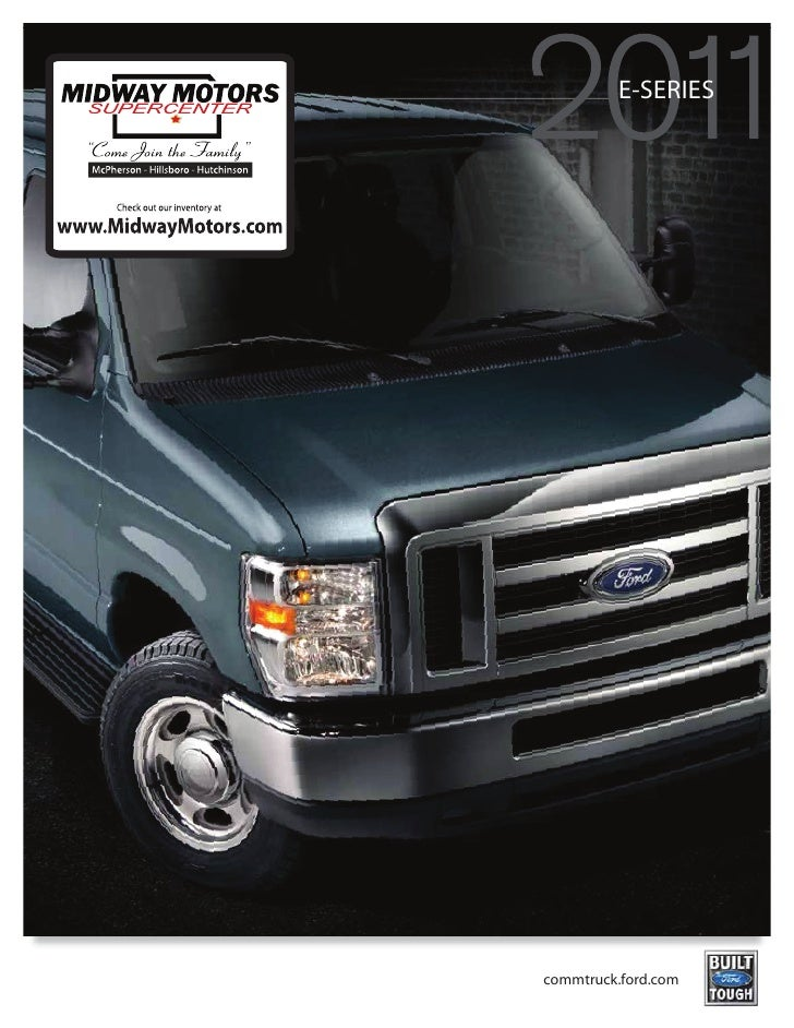 Midway motors 2011 ford e series for Midway motors mcpherson kansas