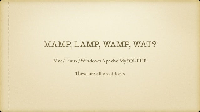 Mamp Team