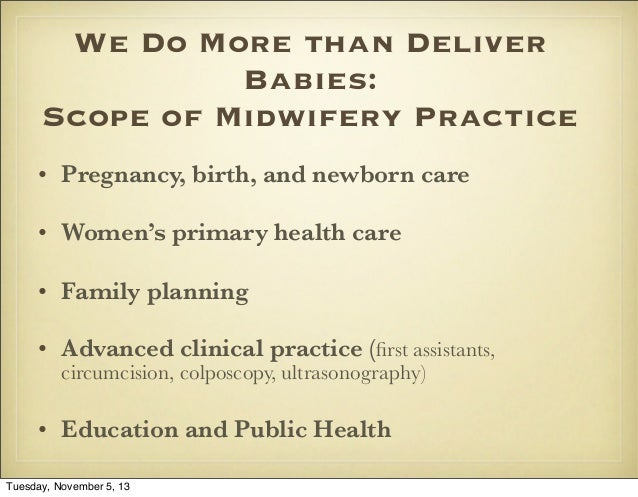 midwifery consultation and referral guidelines