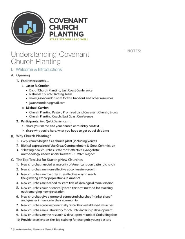Understanding Covenant 