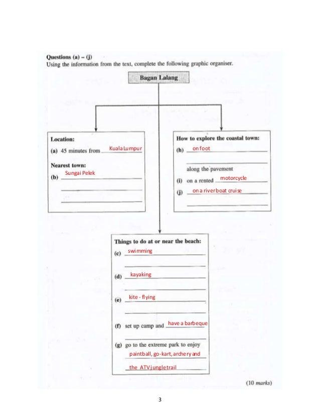 PT3 English Mid Year Exam Form 3 2016 (A) Slide 3