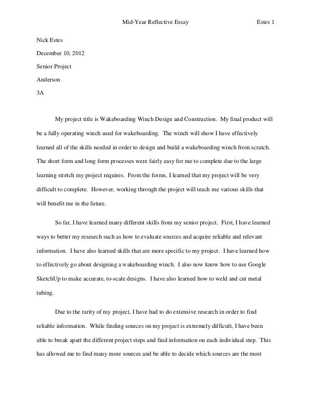 Parent of the year essay