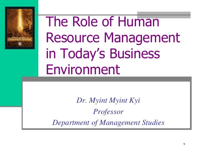 Define Human Resource Management
