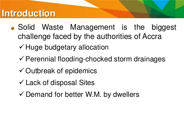 solid waste management in africa pdf