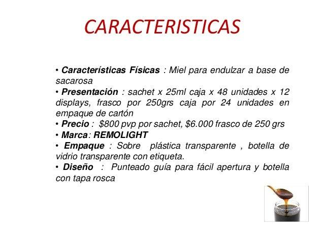 Producto innovador-Miel de remolacha remolight