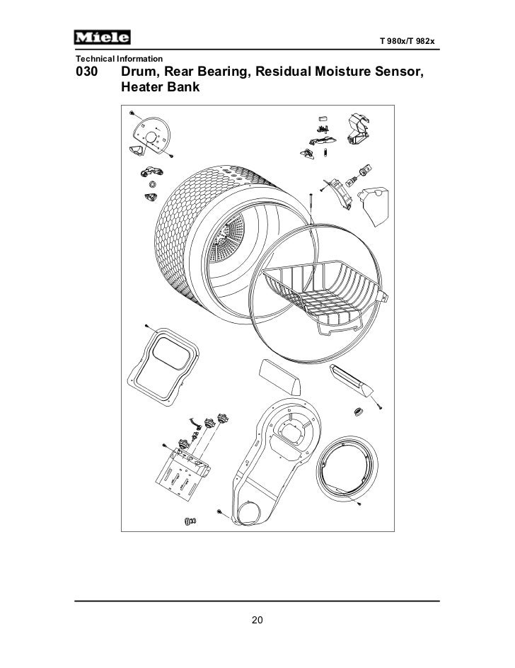 miele gas dryer t9820 service manual rh slideshare net