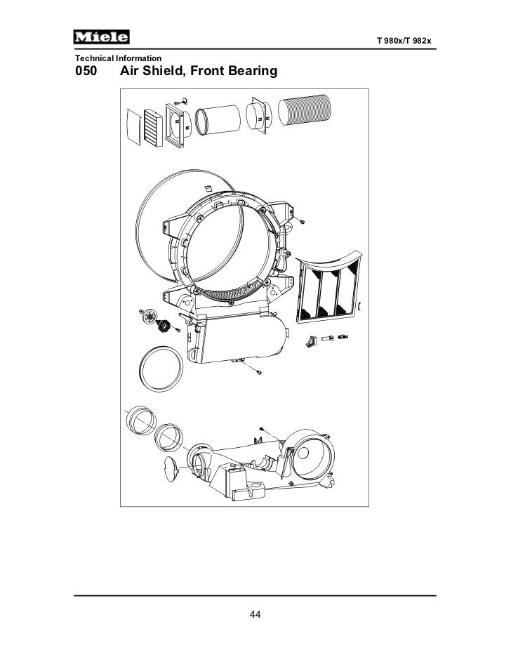 Miele T1 Classic Dryer Manual