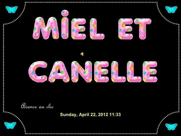 Avance au clic                 Sunday, April 22, 2012 11:33