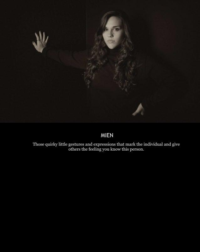 Mien  A Portrait Series Slide 3