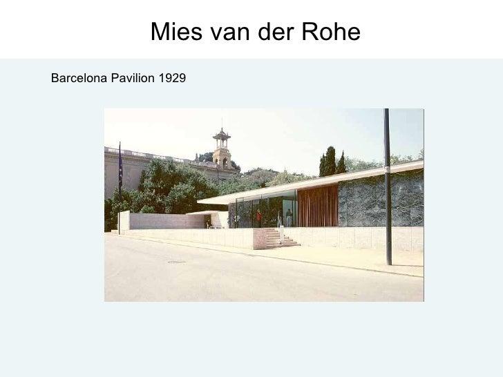 Mies van der Rohe Barcelona Pavilion 1929