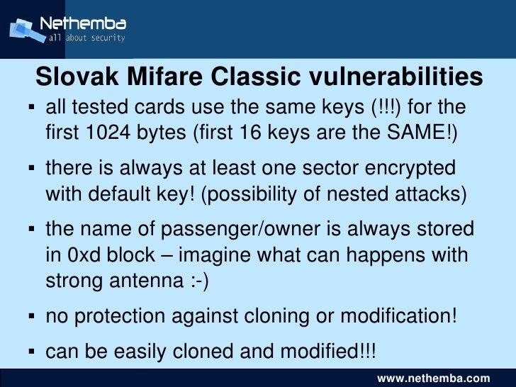 Mifare Cracking - loadbuilding