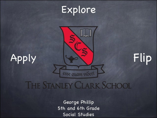 Explore  Flip  Apply  George Phillip  5th and 6th Grade  Social Studies