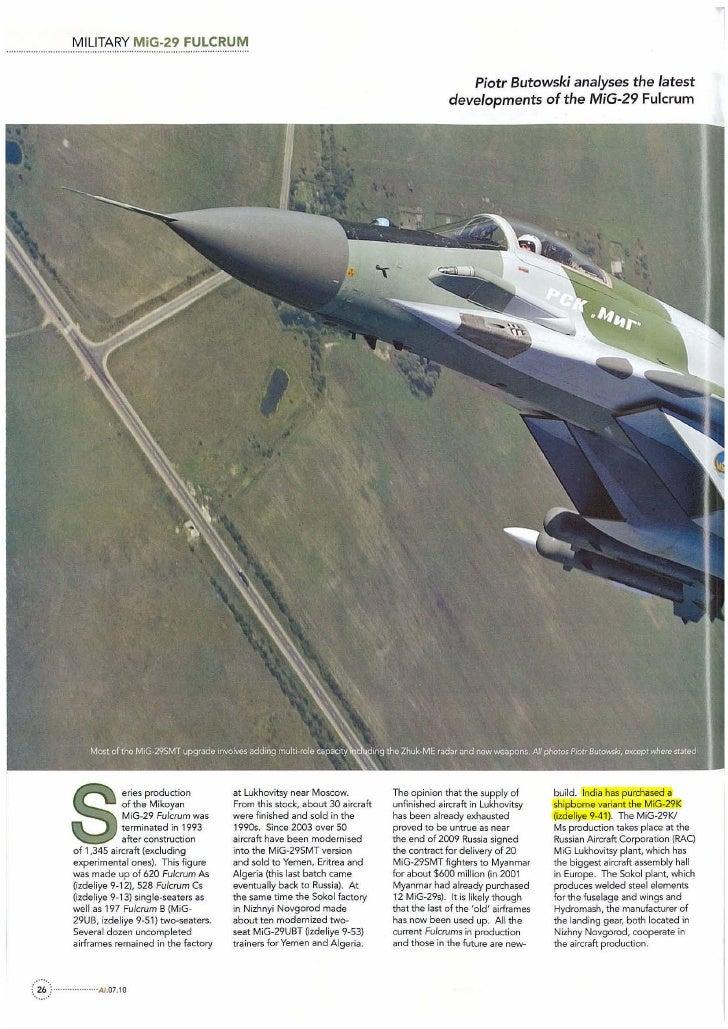 MILITARY MiG-29 FULCRUM                                                                                                 Pi...
