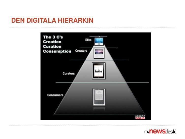 Den digitala hierarkin<br />
