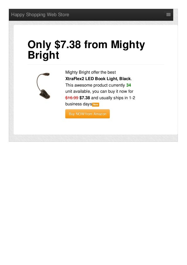 Happy Shopping Web StoreMighty Bright offer the bestXtraFlex2 LED Book Light, Black.This awesome product currently 34unit ...