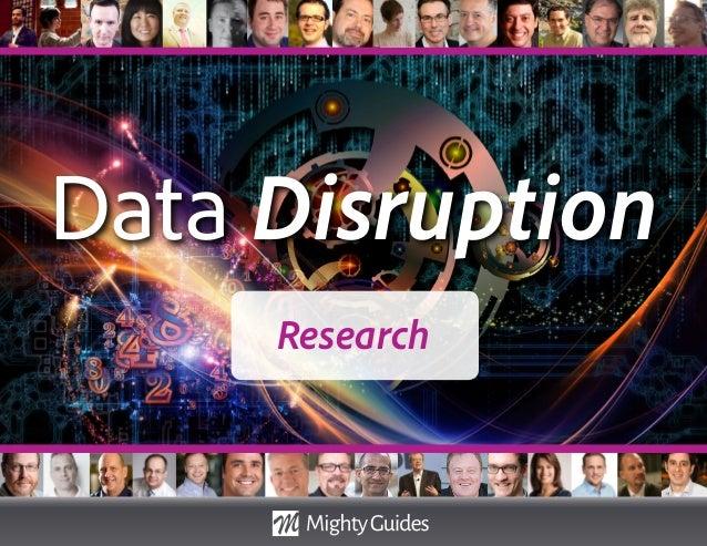 Data Disruption Research