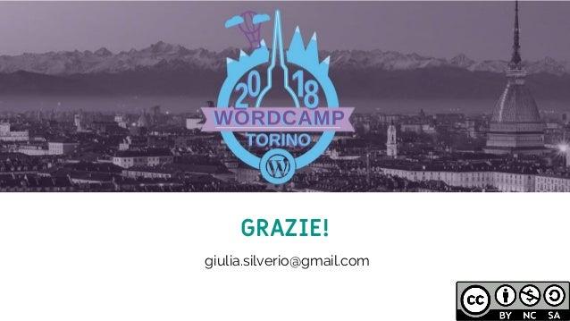 11 GRAZIE! giulia.silverio@gmail.com