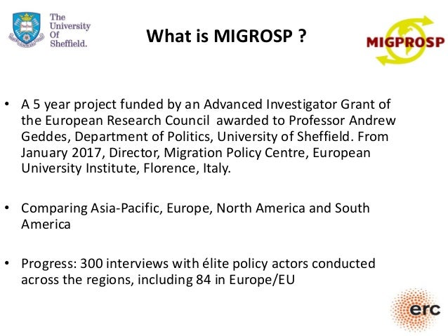 • A 5 year project funded by an Advanced Investigator Grant of the European Research Council awarded to Professor Andrew G...