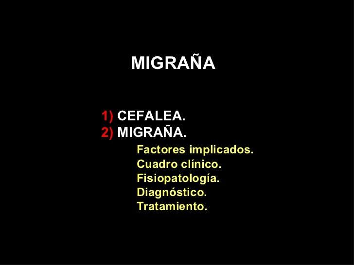 Migraña Slide 2