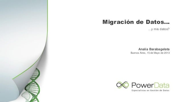 Migración de aplicaciones.... y mis datos.pptx Slide 2
