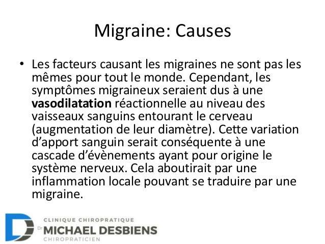 La migraine: Comment s'en sortir? Slide 3