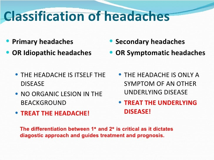 an introduction to the headache types migraine Home brain function identifying the type of forehead headache: causes, symptoms, and treatment this is one of the most common types of headache associated with varying degrees of pain migraine a migraine headache is often used to describe a severe headache.