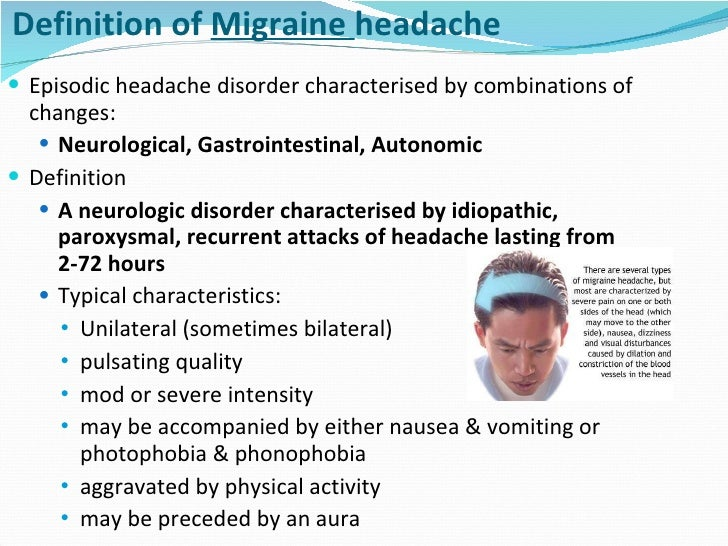 Defining the Differences Between Episodic Migraine and ...