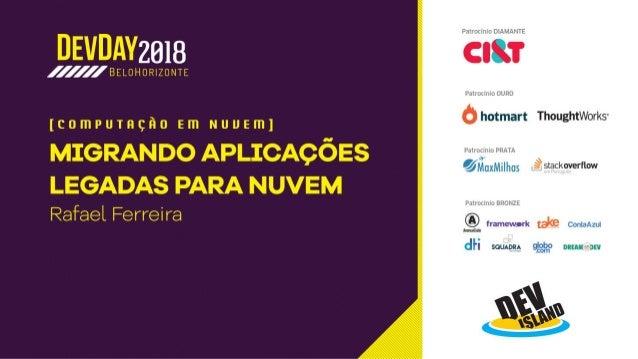 Palestrante: Categorias de premiação: Microsoft Azure Primeiro ano premiado: 2017 Número de prêmios MVPs: 1 rsantos@brazil...
