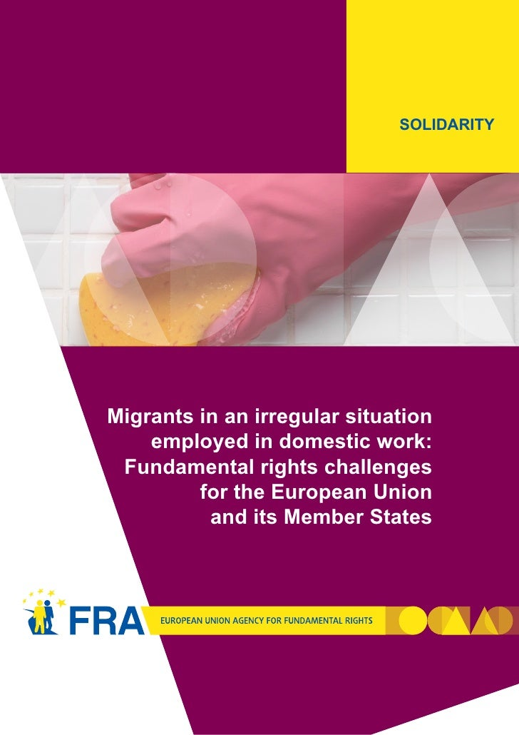 Title of the Chapter                              SOLIDARITYMigrants in an irregular situation    employed in domestic wor...