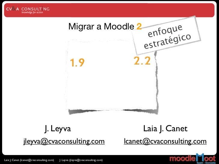 Migrar a Moodle 2                           que                                                                           ...