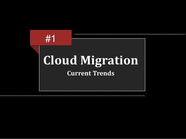 WHY TO MIGRATE YOUR APPLICATIONS TO CLOUD SERVICES? Slide 3