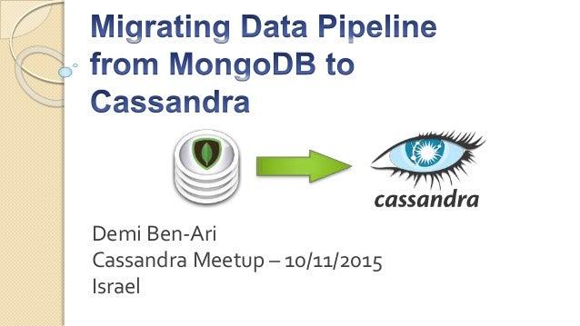 Demi Ben-Ari Cassandra Meetup – 10/11/2015 Israel