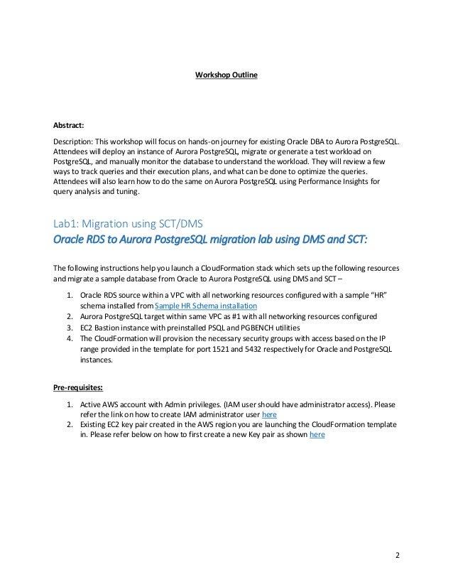 Migrating Oracle to PostgreSQL Slide 2