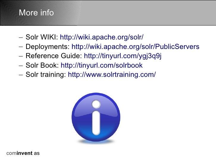 Apache Solr Wikipedia