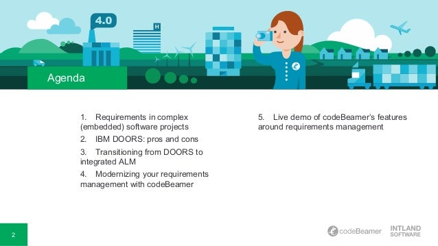 DOORS Closed Migrating from IBM® DOORS® to a Modern Requirements Management System; 2.  sc 1 st  SlideShare & Migrating from IBM Doors to a modern Requirements Management System